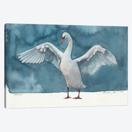 Bird LXIV Canvas Print #RJR41} by REME Jr Canvas Art Print