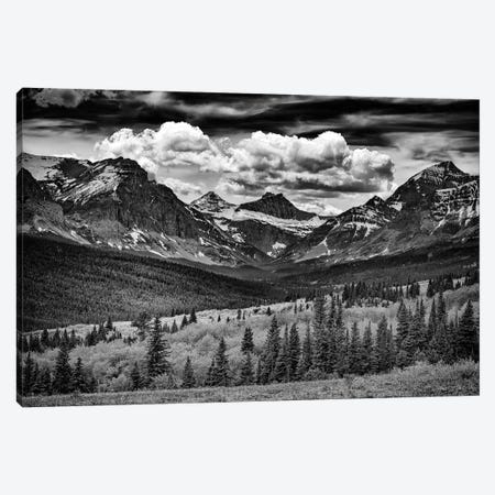 Mountains Majesty Black And White Canvas Print #RKB23} by Rick Berk Canvas Wall Art