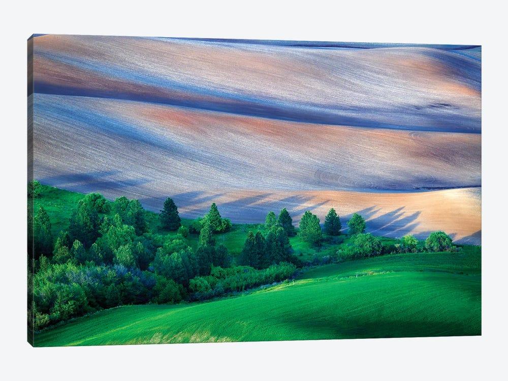 Palouse Shadows by Rick Berk 1-piece Canvas Print