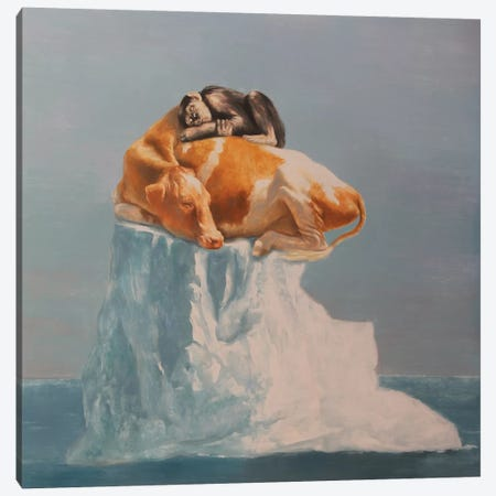Dependent Canvas Print #RKO10} by Rudolf Kosow Canvas Artwork
