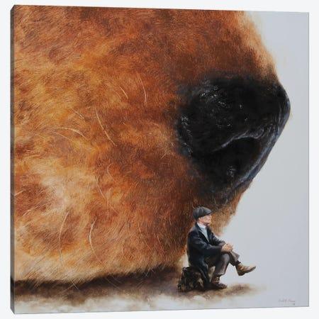 Inseperable II Canvas Print #RKO19} by Rudolf Kosow Canvas Artwork