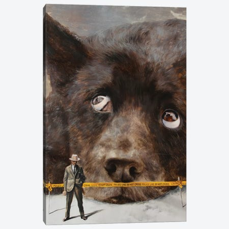 Abnormal Canvas Print #RKO1} by Rudolf Kosow Canvas Print