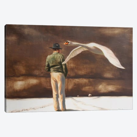 Instantly Canvas Print #RKO21} by Rudolf Kosow Canvas Art Print