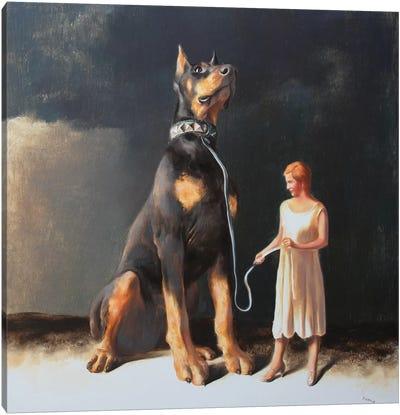 Protectress Canvas Art Print