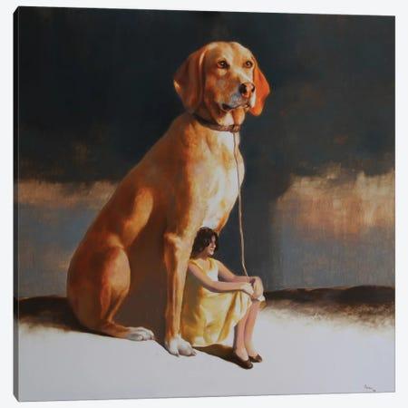 Protectress II Canvas Print #RKO26} by Rudolf Kosow Canvas Artwork