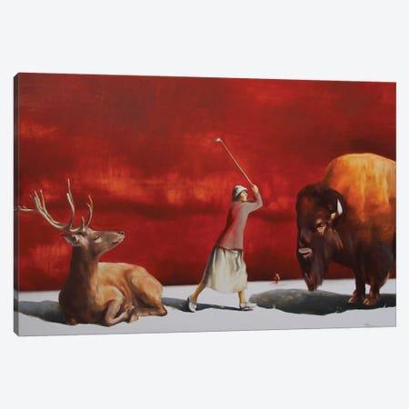 Protectress III Canvas Print #RKO27} by Rudolf Kosow Canvas Wall Art