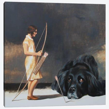Acquaintance Canvas Print #RKO2} by Rudolf Kosow Canvas Art Print