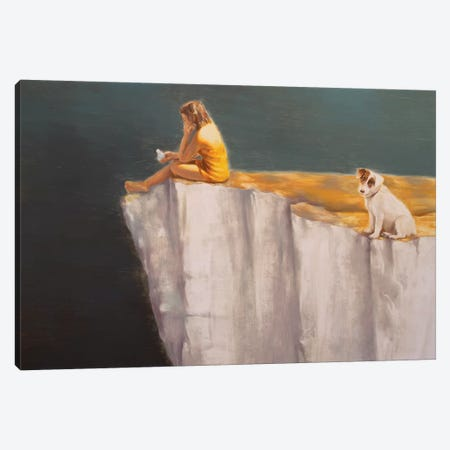 Scene Canvas Print #RKO30} by Rudolf Kosow Canvas Wall Art