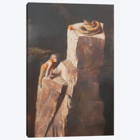 Single-minded Canvas Print #RKO32} by Rudolf Kosow Canvas Artwork