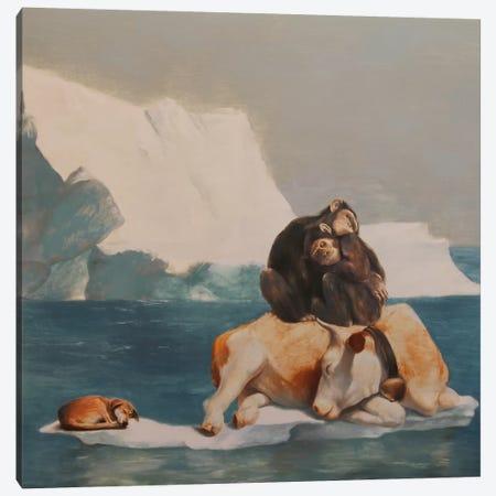 Teamwise Canvas Print #RKO35} by Rudolf Kosow Canvas Art Print