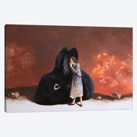 The Secret Canvas Print #RKO36} by Rudolf Kosow Canvas Art Print