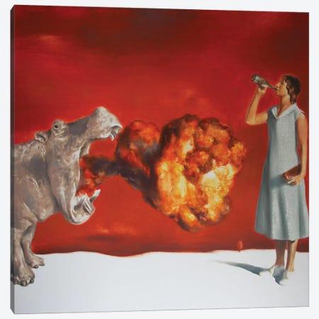 Thirst Canvas Print #RKO37} by Rudolf Kosow Canvas Art Print