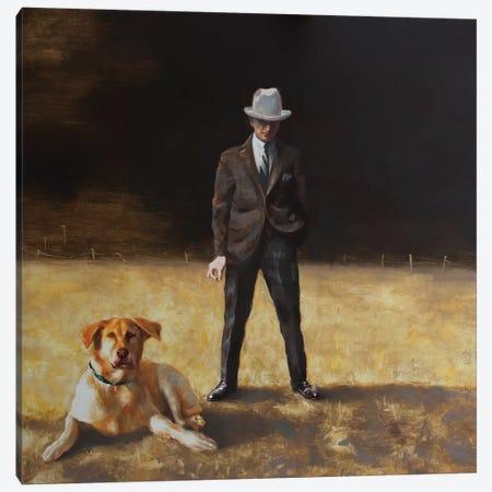 Best Friends Canvas Print #RKO3} by Rudolf Kosow Art Print