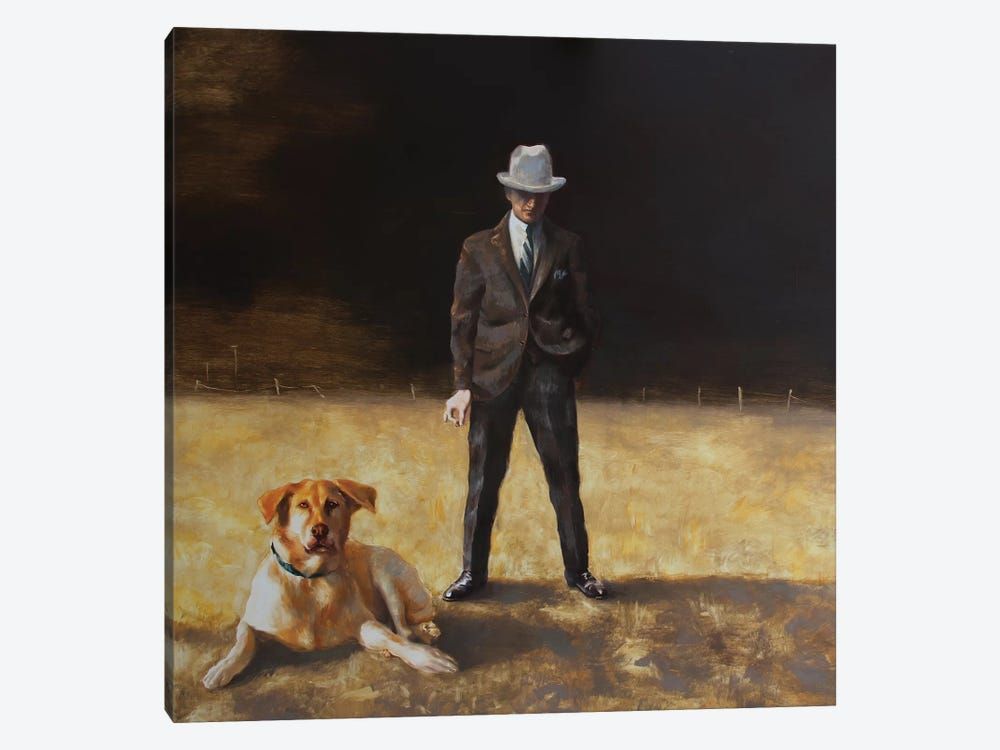 Best Friends by Rudolf Kosow 1-piece Canvas Artwork