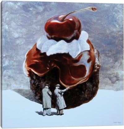 Cake Incident Canvas Art Print