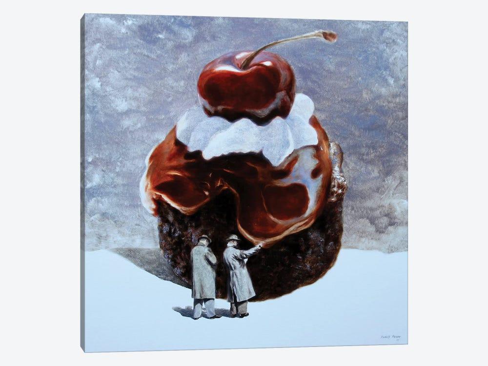 Cake Incident by Rudolf Kosow 1-piece Canvas Art