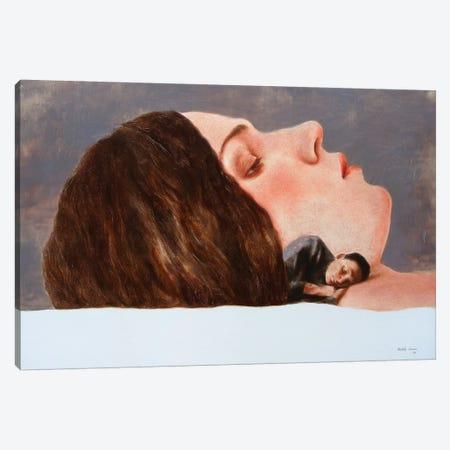 Couple Canvas Print #RKO43} by Rudolf Kosow Canvas Art Print
