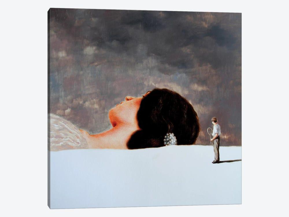 The Brooch by Rudolf Kosow 1-piece Canvas Art Print