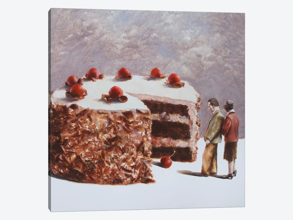 Missing Piece by Rudolf Kosow 1-piece Art Print