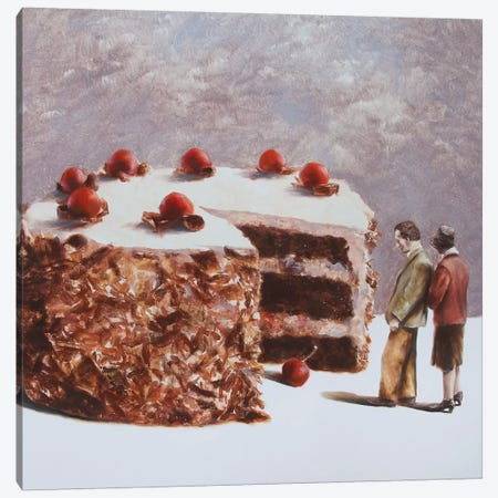 Missing Piece Canvas Print #RKO49} by Rudolf Kosow Art Print