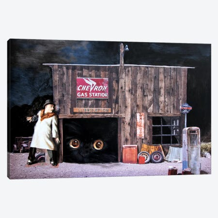 Runaway Canvas Print #RKO50} by Rudolf Kosow Canvas Art