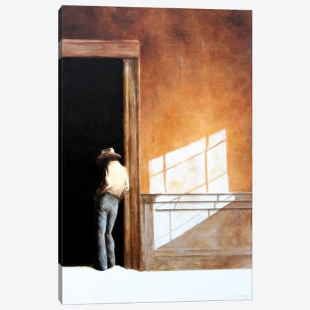 Uncertain Canvas Print #RKO51} by Rudolf Kosow Canvas Wall Art