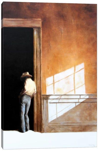 Uncertain Canvas Art Print