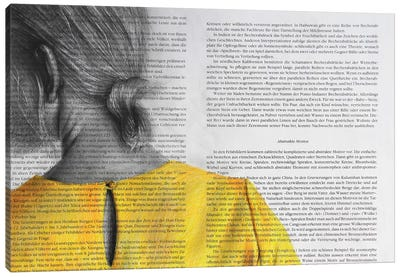 Yellow Blouse Canvas Art Print