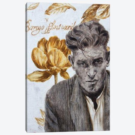 Desperate Mr. D Canvas Print #RKO54} by Rudolf Kosow Art Print