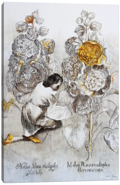 Malua Rosea Multiplex Canvas Art Print
