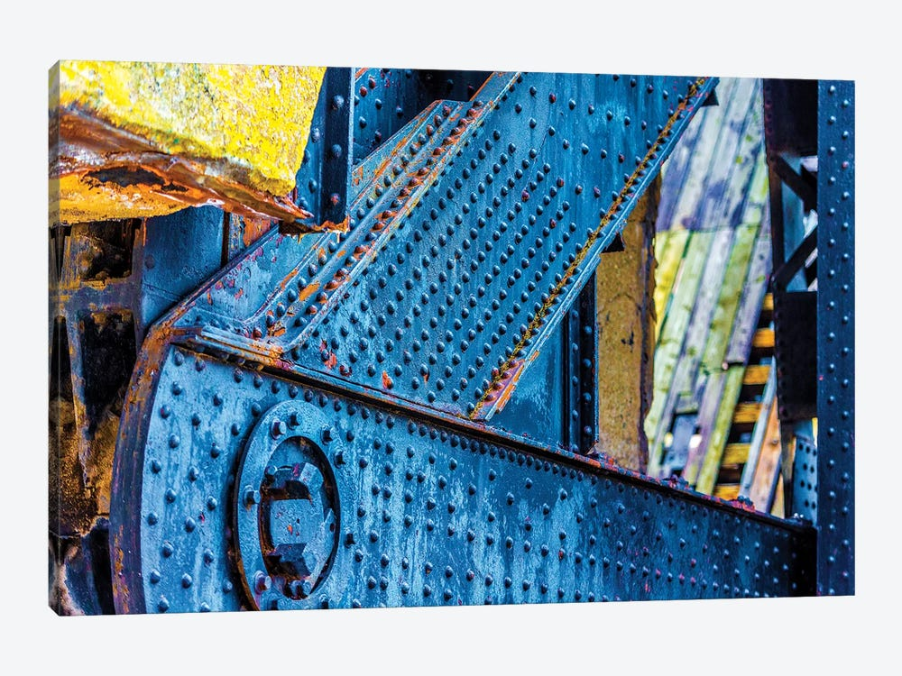 Bridge Chicago River South Branch 1-piece Canvas Artwork