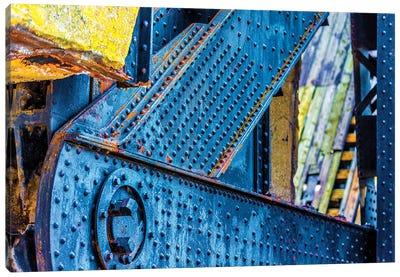 Bridge Chicago River South Branch Canvas Art Print