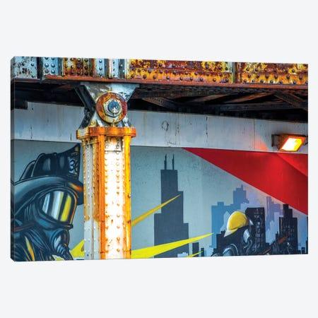 Fireman, Addison & Lincoln Canvas Print #RKU28} by Raymond Kunst Canvas Print