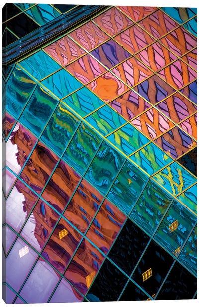 Fish Below The Ice Canvas Art Print