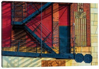 615 S. Wabash Ave. Parking Garage Canvas Art Print