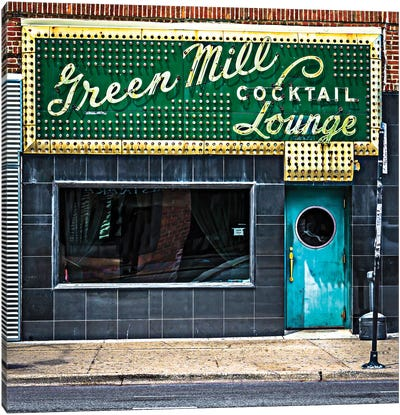 Green Mill Cocktail Lounge Canvas Art Print