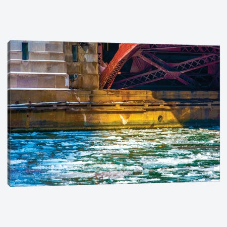 Irv Kupcinet Bridge Canvas Print #RKU34} by Raymond Kunst Canvas Print