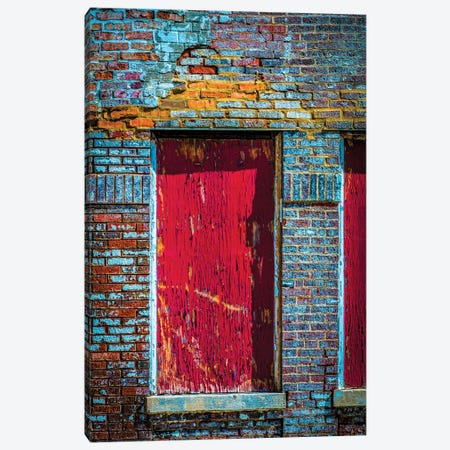 Parking Garage In Wrigleyville Canvas Print #RKU47} by Raymond Kunst Canvas Artwork
