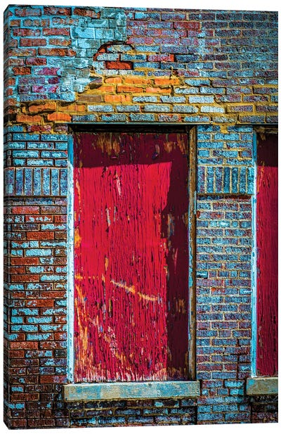 Parking Garage In Wrigleyville Canvas Art Print