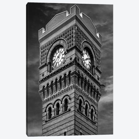 Polk Street Station Canvas Print #RKU49} by Raymond Kunst Canvas Print