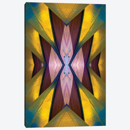 Pure Gold Lincoln Park Wood Pavilion I Canvas Print #RKU51} by Raymond Kunst Canvas Art
