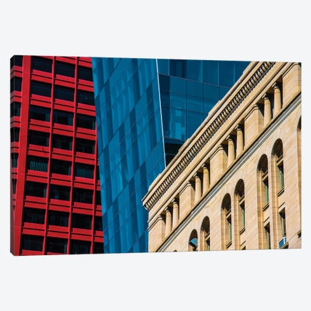 Red, White, & Blue Canvas Print #RKU53} by Raymond Kunst Canvas Wall Art