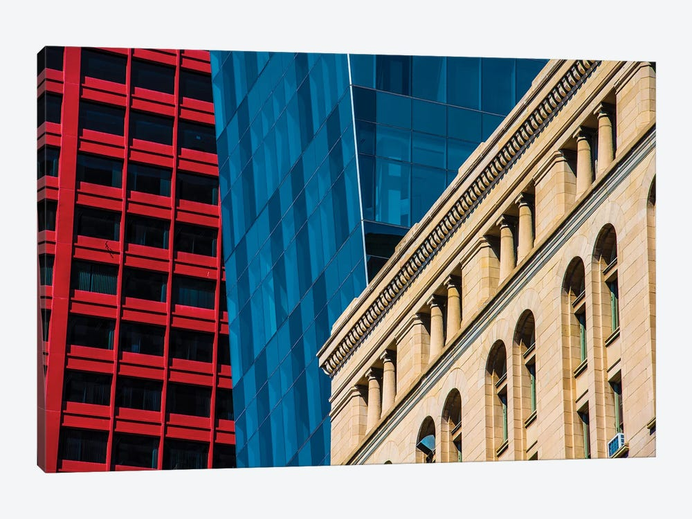 Red, White, & Blue by Raymond Kunst 1-piece Canvas Print