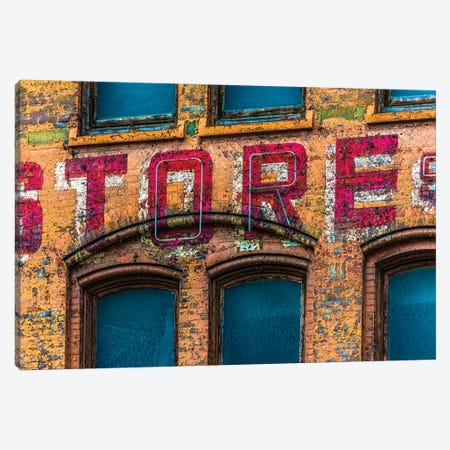 Roadway Outdoor Store Pittsburgh Canvas Print #RKU54} by Raymond Kunst Canvas Print