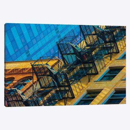 Stair Love Canvas Print #RKU60} by Raymond Kunst Canvas Art Print