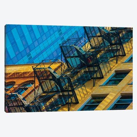 Stair Love Canvas Print #RKU60} by Raymond Kunst Canvas Art Print