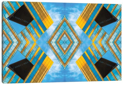 State And Grand Diamond Composite Canvas Art Print