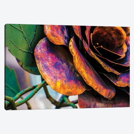 The Rose Canvas Print #RKU66} by Raymond Kunst Canvas Art