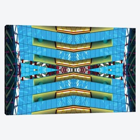 Thompson Center Vertical Canvas Print #RKU71} by Raymond Kunst Canvas Art