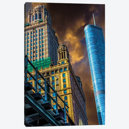 Trump Tower & Jewelers' Building Canvas Print #RKU73} by Raymond Kunst Canvas Art